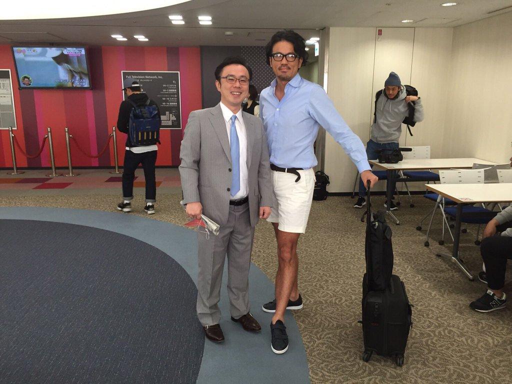 そういえば、こないだCXでビリギャルの坪田さんと会えて嬉しかったー。