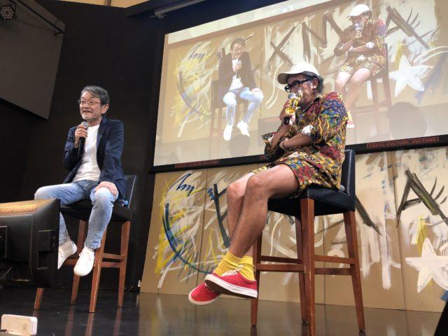 「 Shinohara is great. 」シノハラがお世辞抜きで素晴らしい講演をしてくれました。